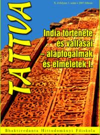 India története és vallásai - alapfogalmak és elméletek I.
