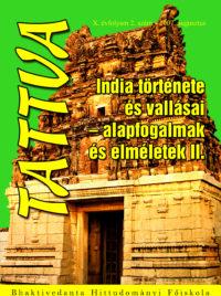 India története és vallásai – alapfogalmak és elméletek II. – 8 – X/2. – 2007. augusztus
